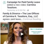 Carmina (Tessitore) Hirsch Supports Paid Family and Medical Leave for Connecticut