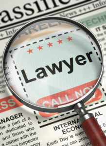 Lawyer Hiring Now. 3D.